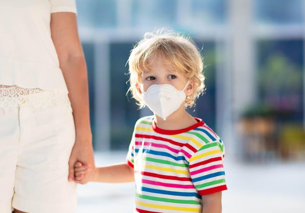 Mascherina nei bambini asmatici